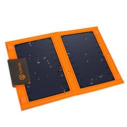 iClever USB Solar Charger 8000mah Solar Battery Pack Single