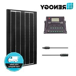 Renogy 30 Watts 12 Volts Monocrystalline Solar Panel Kit