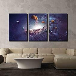 wall26 - 3 Piece Canvas Wall Art - High Resolution Images Pr