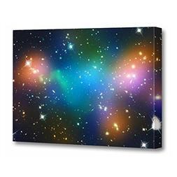 TORASS Canvas Wall Art Print Stars Beautiful Space Planets G