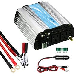 Giandel 400W Power Inverter 12V to 110V AC Car Inverter with
