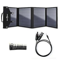 Cargador De Panel Solar Plegable De 60 W Para Suaoki / Jacke