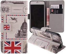 Eloiro Case for Apple iPhone 6 Plus, iPhone 6S Plus, Magneti