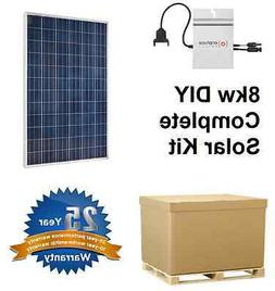 commercial solar panel, Enphase m215 - Do It Yourself, 1kw S