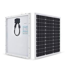 Renogy 50W 12V Compact Design Monocrystalline Solar Panel Hi