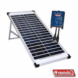 COMPLETE COLEMAN KIT 40w 40 Watts Crystalline Solar Panel Ki