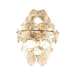 Crystal Wall Lamp, Post-modern Creative Hexagonal Crystal Gl