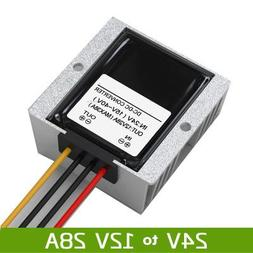 BAOSHISHAN DC-DC Step-Down 24V to 12V Voltage Converter Wate