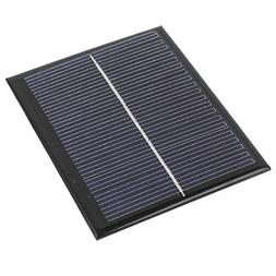 uxcell DC 6V 1.5W Rectangle Energy Saving Solar Cell Panel M