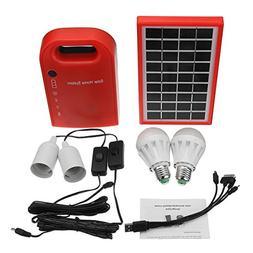 GGGarden 3W/9V DC Solar Generator Portable kit Solar Generat