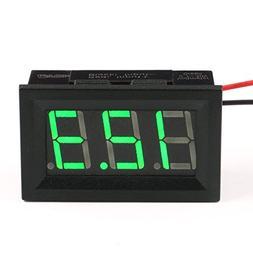 """12 Volt Digital Voltmeter, DROK 0.56"""" DC 3-30V 12v Voltage T"""