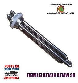 DC Water Heater Element 24 Volt 600 Watt for Wind Generator
