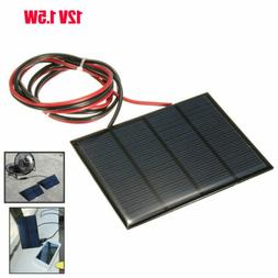 DIY Small Cell Battery Solar Panel Module Epoxy Charger + We