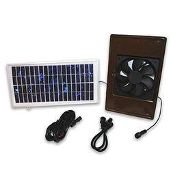 Dog Palace Breeze Solar Powered Exhaust Fan - Large