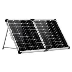 DOKIO 100w 12v Monocrystalline Foldable Solar Panel