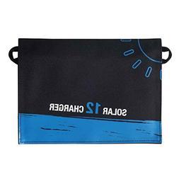 F-blue 12W Dual USB Folding Solar Charger Solar Panel Module