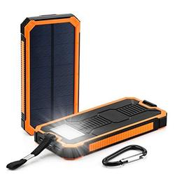 dual usb ports solar panel