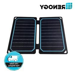 Renogy E.FLEX 10 Watt Folding Solar Panel Portable 10W 5V US