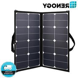 Renogy Eclipse 50W 12V Portable Solar Panel Lightweight Suit