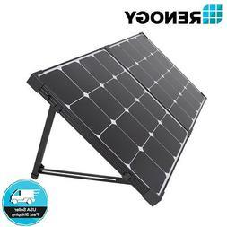 Renogy Eclipse 100W Mono Solar Panel Folding Suitcase w/o Co