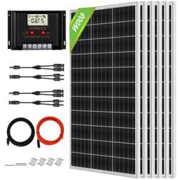 ECO 100W Watt Solar Panel Kit for 12V Battery Power Charge &