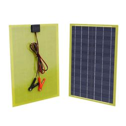 ECO 5W Epoxy Resin Solar Panel  5 Watt 12Volt Solar Battery