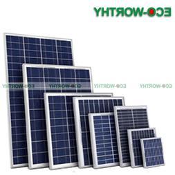 ECO Mono Mono PV Solar Panel 160W 100W 90W 40W 25W 10W 5W 12