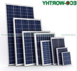 ECO Solar Panel 5W 10W 100W 160W Mono Poly Solar Panel For B