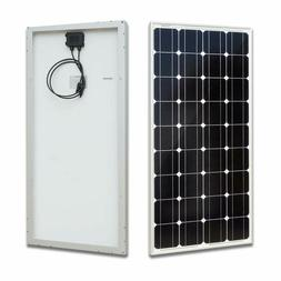 Eco-Worthy 100 Watt Solar Panel 12 Volts Monocrystalline Sol