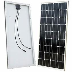 ECO-WORTHY 100 Watt Solar Panel 12 Volts Monocrystalline Hig