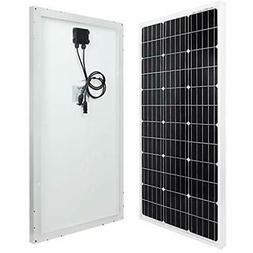 ECO-WORTHY 100 Watts 12 Volts Monocrystalline Solar Panel Ga