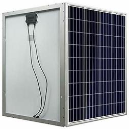 ECO-WORTHY 100 Watts 12 Volts Photovoltaic Pv Solar Panel Hi