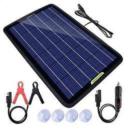 ECO-Worthy 12 Volts 10 Watts Solar Battery Charger & Maintai