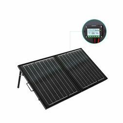 ECO-WORTHY 120 Watt 12Volt Off Grid Monocrystalline Portable