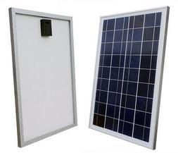 ECO-WORTHY 12V Volt Solar Panel 25W Watt Module Off Grid Cha