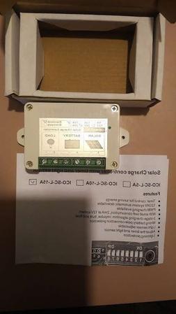 ECO-WORTHY 15A PWM Solar Panel Charge Controller 12V/24V Bat
