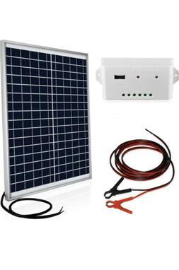 ECO-WORTHY | 20 Watts 12V Off Grid Solar Panel Kit | Waterpr
