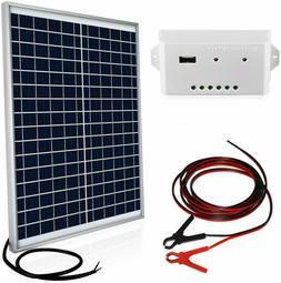 ECO-WORTHY 20 Watts 12V Off Grid Solar Panel Kit Waterproof