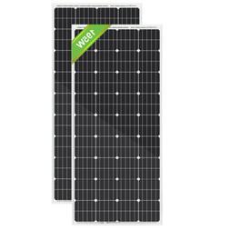 eco worthy 195w 120w 100w monocrystalline solar