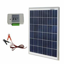 Eco-Worthy 20W 12V Ip65 Solar Panel Kit: 20W Off Grid Polycr