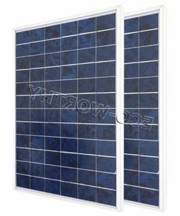 ECO-WORTHY 20W 2*10W Solar Panel 10Watt Solar Module 12V Cam