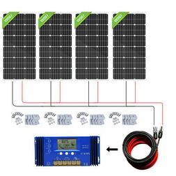 Eco-worthy 400W 12V Solar Panel Bundle Battery Charing Kit S