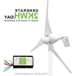 Eco-worthy 400W 12V Wind Turbine  Solar Wind Hybrid Charge C