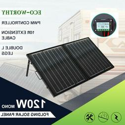 50W 100W 120W Portable Folding Solar Panel Suitcase Complete
