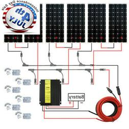 ECO-WORTHY 600 Watt Solar Panel Kit 40A MPPT Off Grid Batter