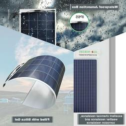 ECO-WORTHY Flexible Solar Panel 2* 160W 18V battery charge f