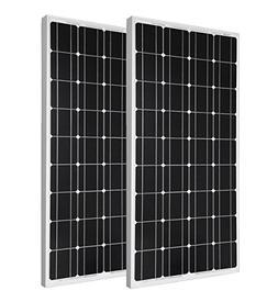 ECO-WORTHY 2pcs 100 Watt Monocrystalline Photovoltaic PV Sol