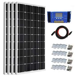 400 Watt Monocrystalline Solar Panel Starter Kit with 30A PW