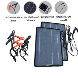 ECO-WORTHY Multiple 5W Portable Solar Panel Complete Kit For