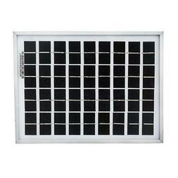ECO-WORTHY Polycrystalline Solar Panels 5 Watt 12 Volt 5w 12